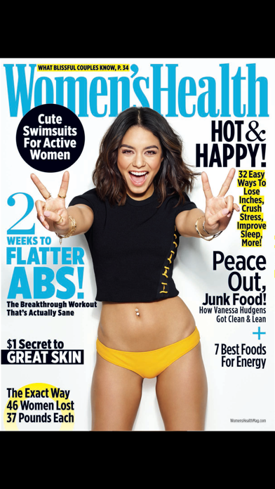 Screenshot for Women's Health Mag in Argentina App Store