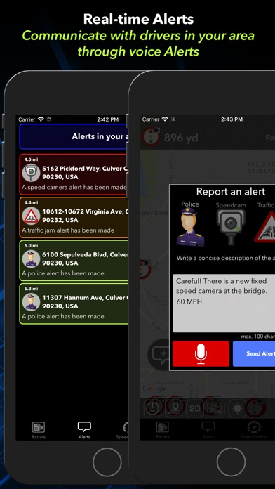 Radarbot: Speedcam Detector Screenshot
