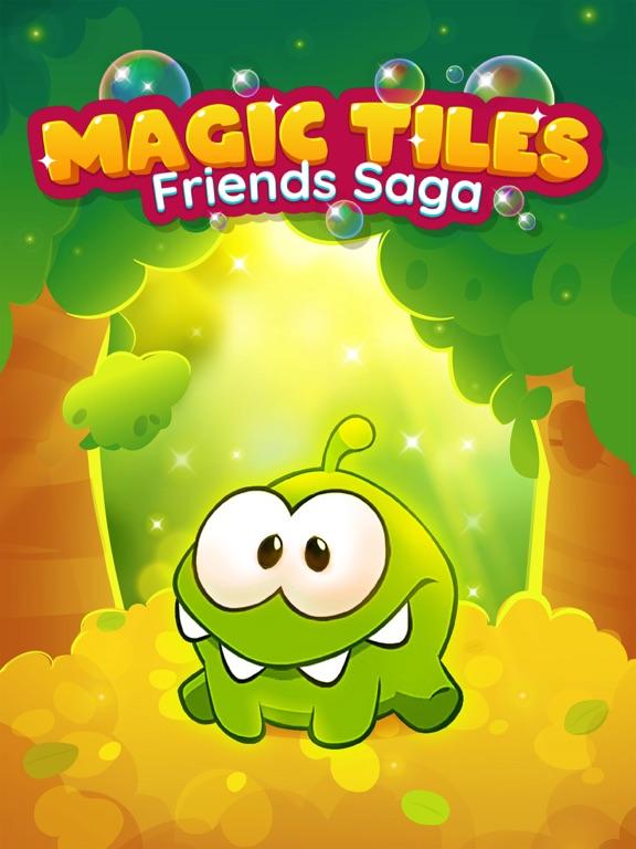 iPad Image of Magic Tiles Friends Saga