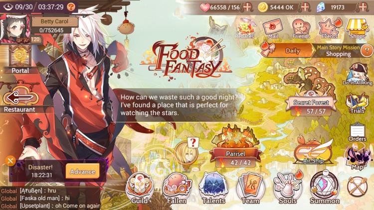 Food Fantasy screenshot-0
