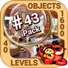 Pack 43 -10 in 1 Hidden Object