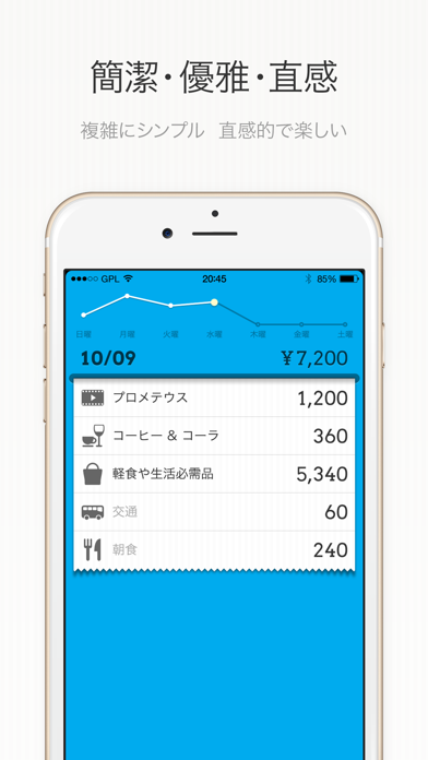 DailyCost - 優雅な簿記 ScreenShot0
