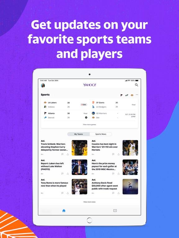 Yahoo - News, Mail, Sports screenshot 7