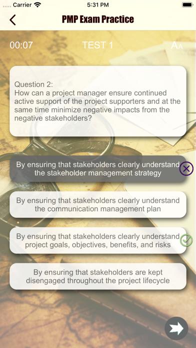 PMP Revision Aid screenshot 3