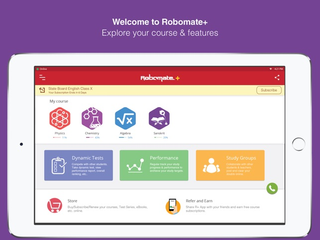 Robomate+ Std 8-12 IIT NEET CA on the App Store