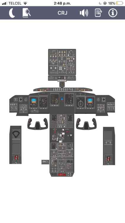 CRJ Virtual Panel screenshot-0