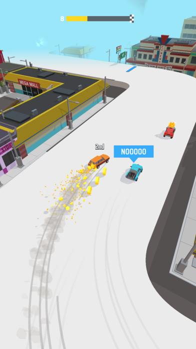 Drifty Race! screenshot 1