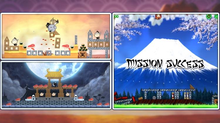 Ninja Dogs: Slingshot Shooter screenshot-4