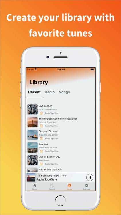 TopoTune - Live Radio & Music screenshot-3