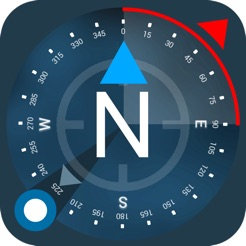 ‎Compass GPS(Map, Weather)