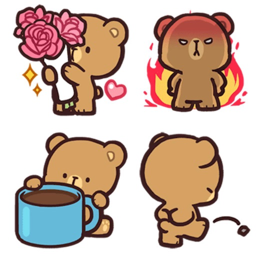 Cool Bear Mocha Daily Emoji
