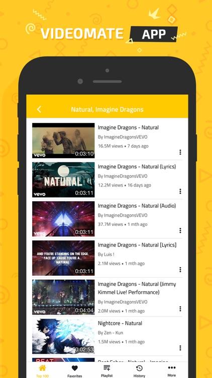 Video Mate - Top Music Videos screenshot-4