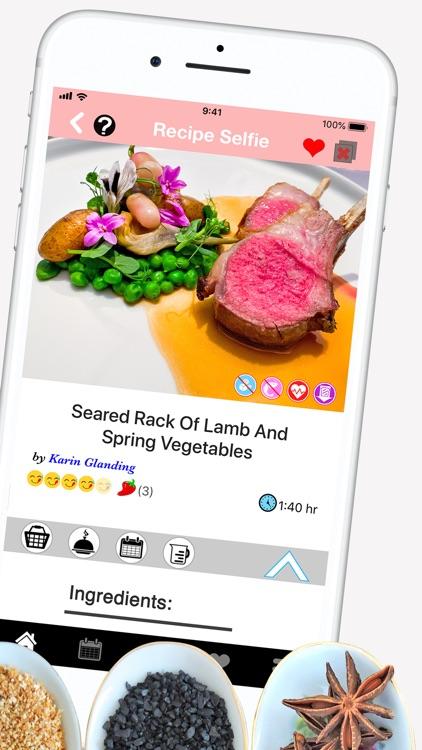 Recipe Selfie Cooking App