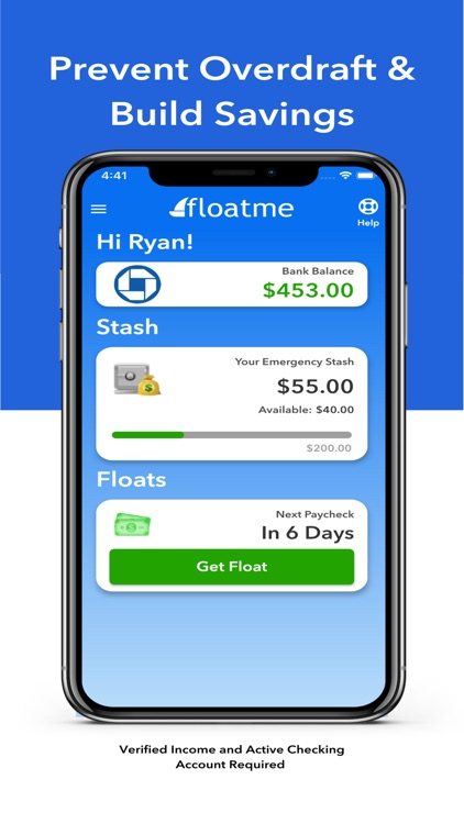 FloatMe - Get Cash Now screenshot-3