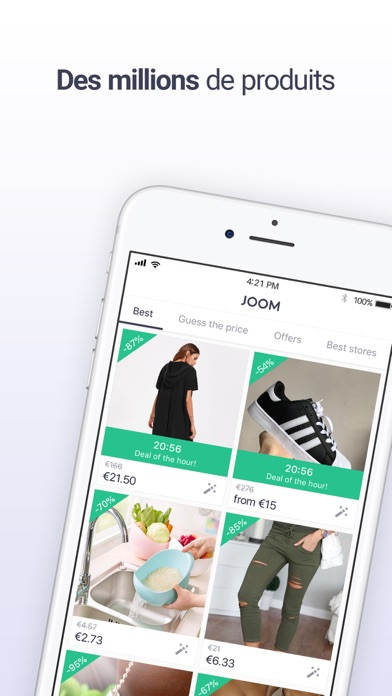download Joom: Vêtements, Chaussures apps 0