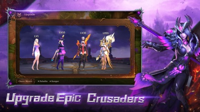 Screenshot from Crusaders of Light