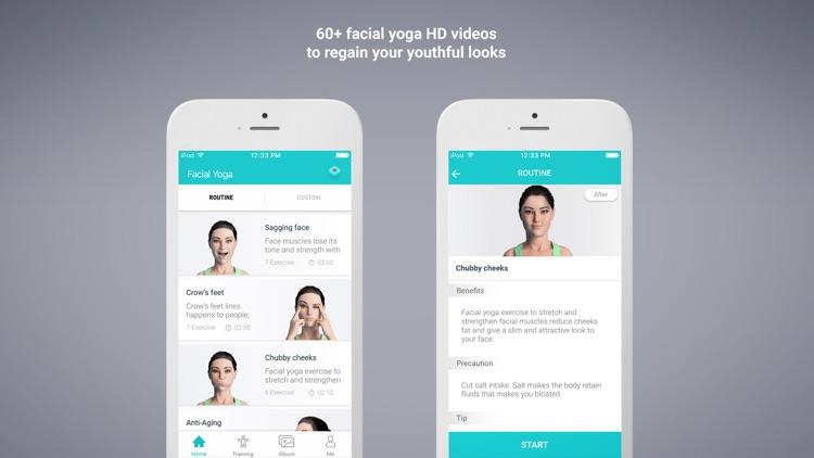 Facial Yoga Pro - Face fitness screenshot-0