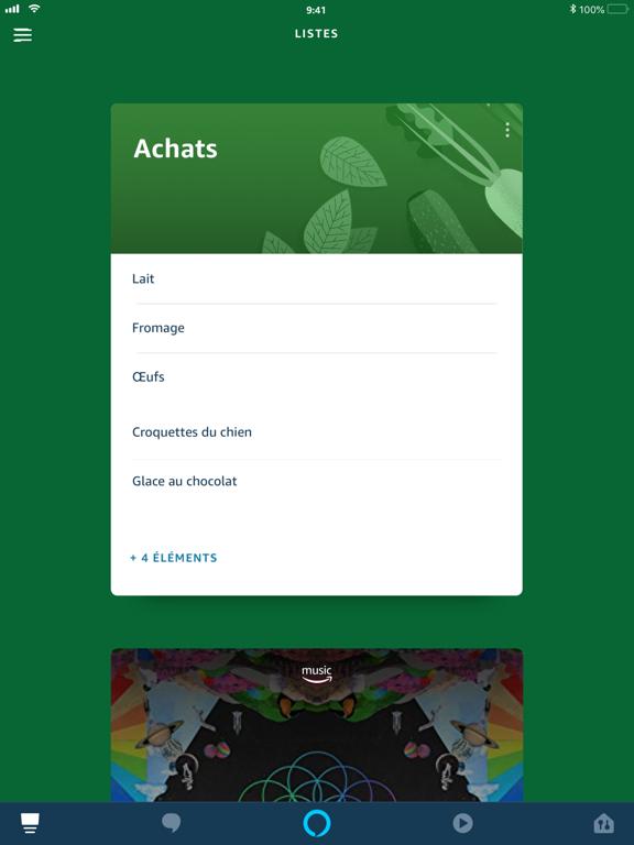Screenshot #5 pour Amazon Alexa