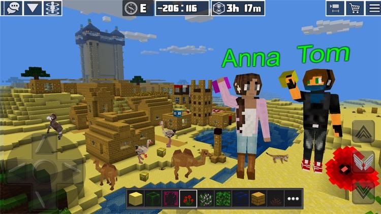 PlanetCraft: Block Craft Games screenshot-3