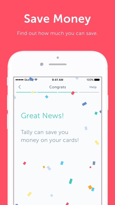 Screenshot for Tally — Get Out of Debt Faster in United States App Store