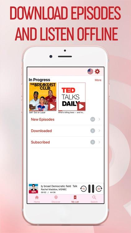 Podcasts myTuner - Podcast App screenshot-6