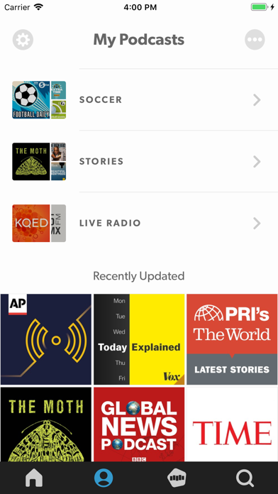 Stitcher For Podcasts review screenshots