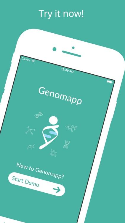 Genomapp, Squeeze your DNA screenshot-4