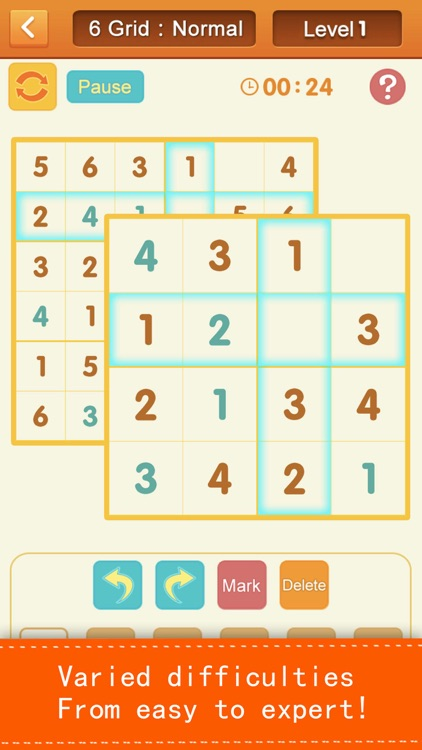 Sudoku - number puzzles screenshot-0