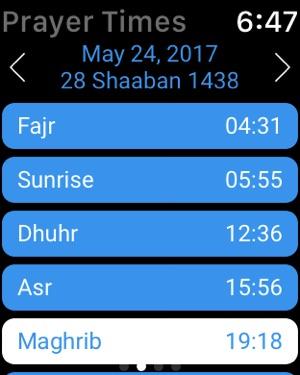 Calendario Islamico 1438.Ramadan Times 2019 Pro