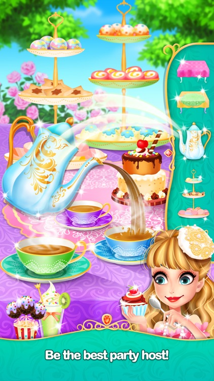 Princess Tea Party - Fun Games screenshot-4