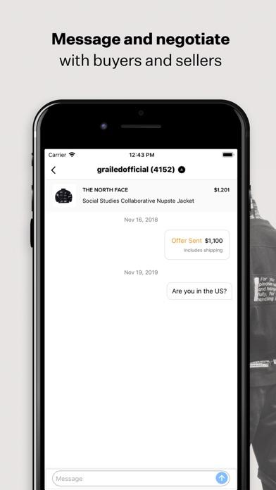 Herunterladen Grailed - Buy & Sell Clothing für Pc