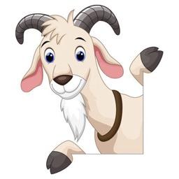 山羊 - Goat Stickers