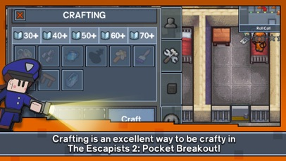 Screenshot from Escapists 2: Pocket Breakout