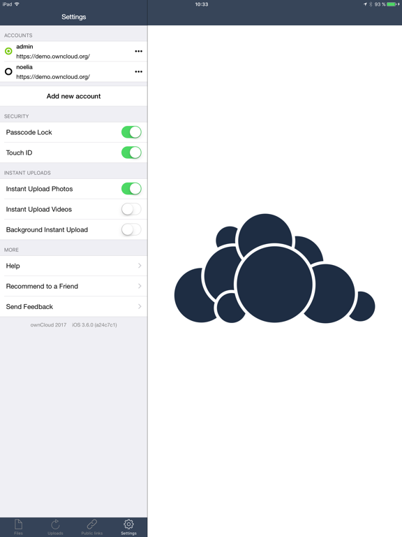 ownCloud – with legacy support