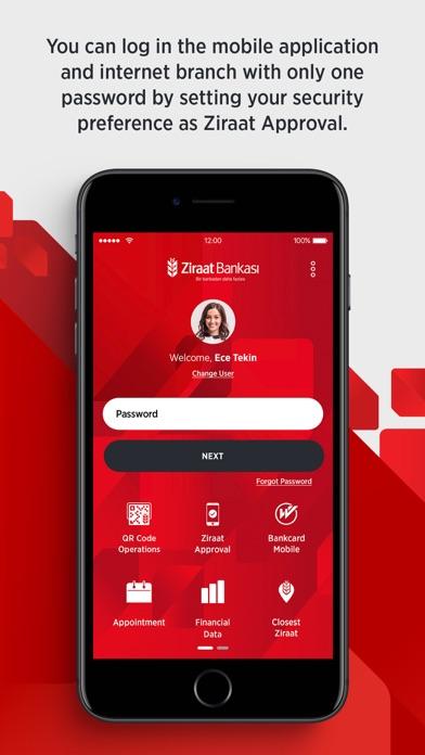Ziraat Mobil screenshot three