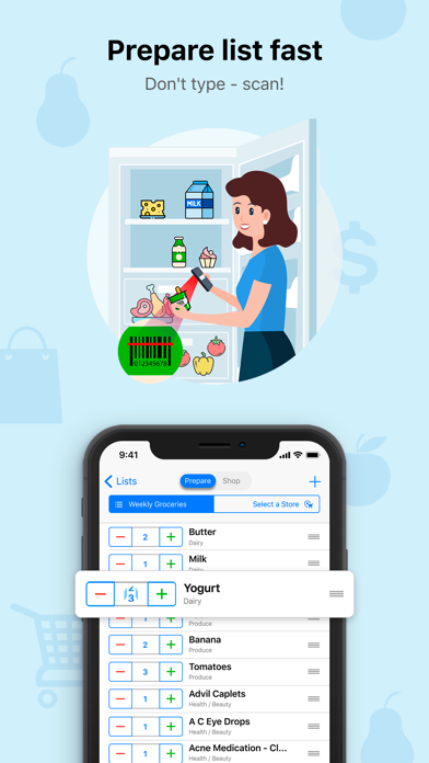 Grocery Gadget Lite iPhone