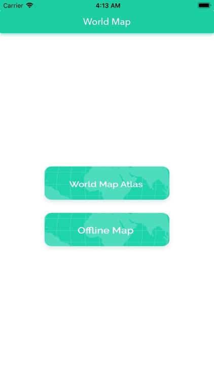 World Map Atlas 2020