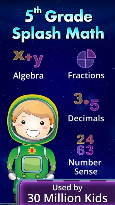 Math Games for 5th Grade Kids screenshot 1