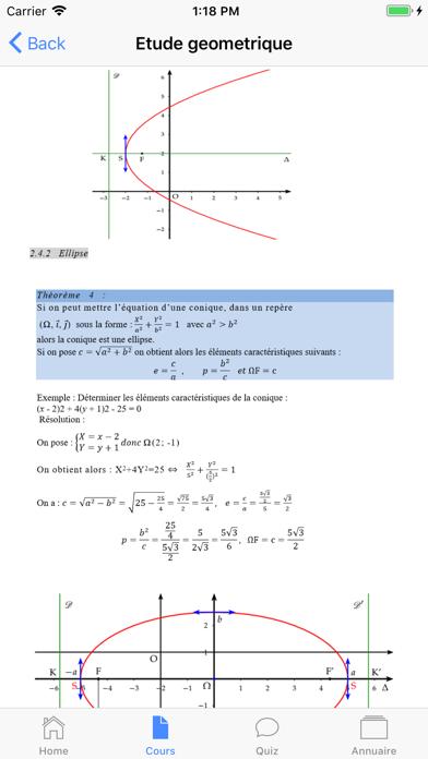 Cours de Maths screenshot 2
