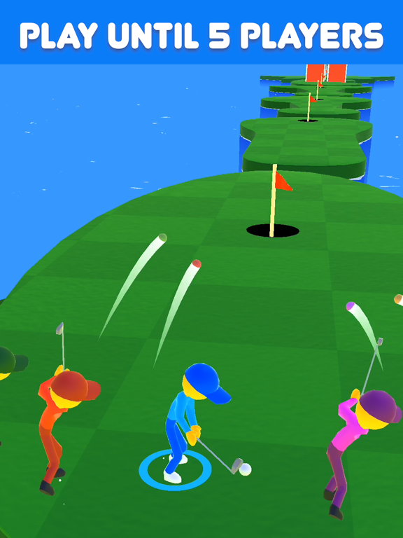 Golf Race screenshot 5