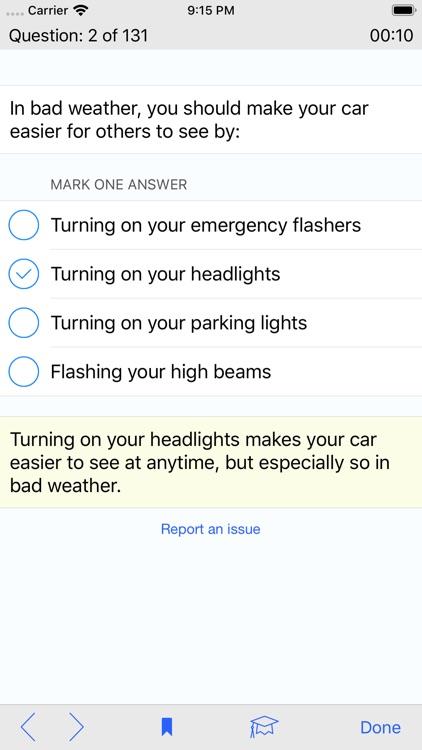 California DMV Test Prep screenshot-4
