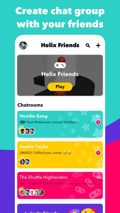 Helix Friends screenshot 1