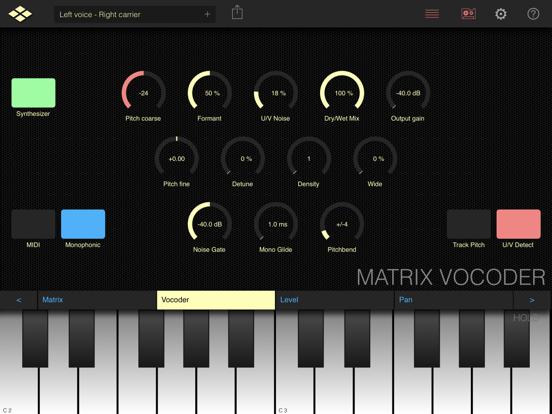 Matrix Vocoder
