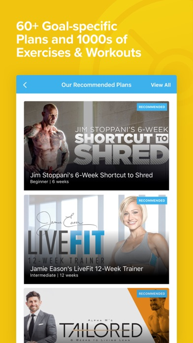 Bodybuilding.com BodyFit Screenshot