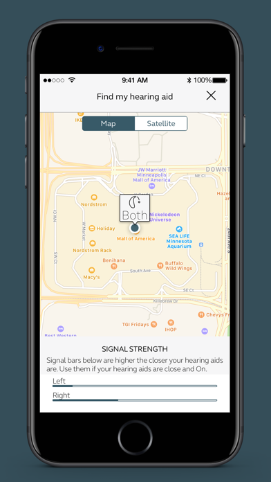 BeMore – for your hearing aids screenshot four