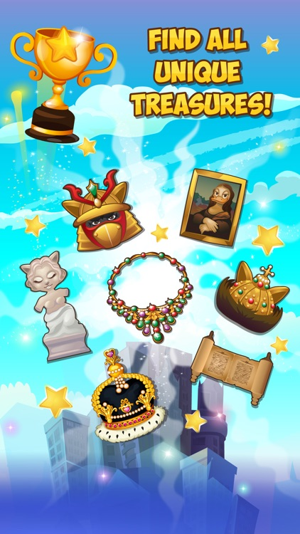 Jewels Detective Shiny Мatch 3 screenshot-3