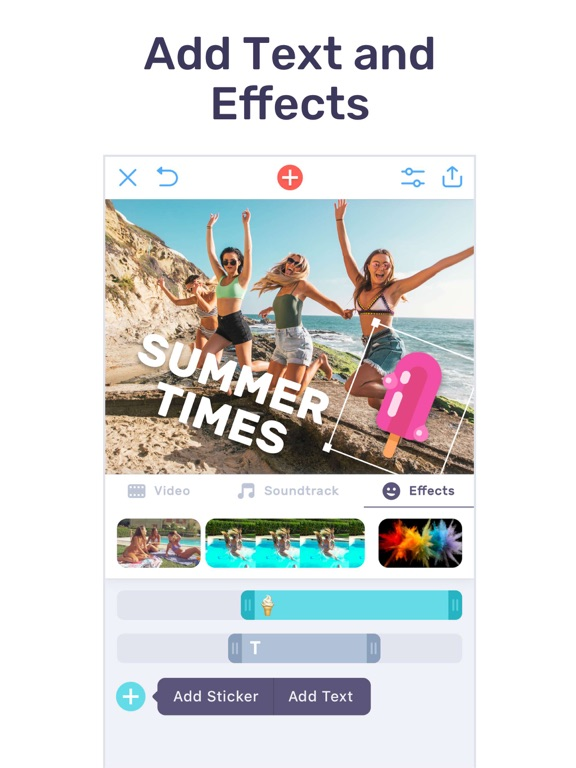 Audio Video Mixer - A Background Sound Editor To Add Music On Videos For Instagram & Youtube screenshot