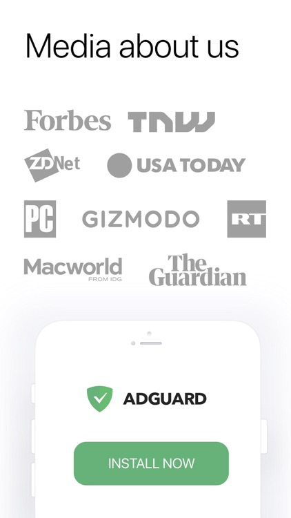 AdGuard  — adblock&privacy screenshot-4