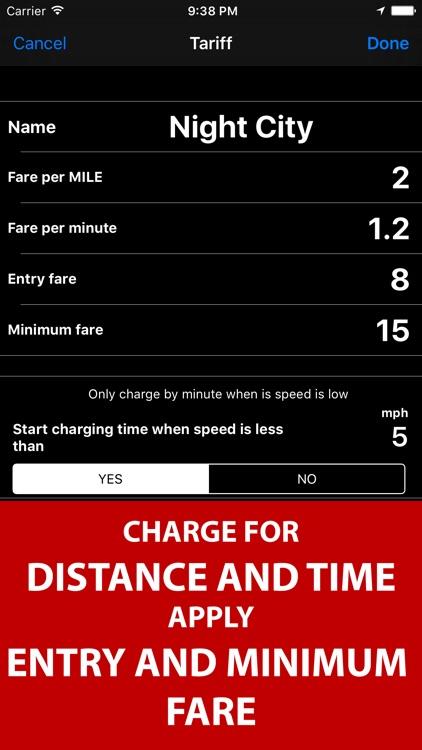 Taximeter. GPS taxi cab meter. screenshot-4
