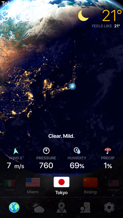 WEATHER NOW ° - 天気 ScreenShot3